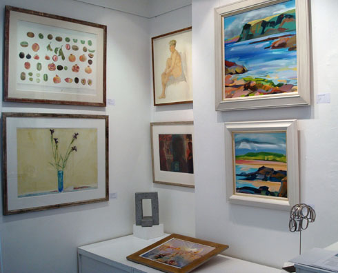 Scottish Art Today  Bohun Gallery June 2014