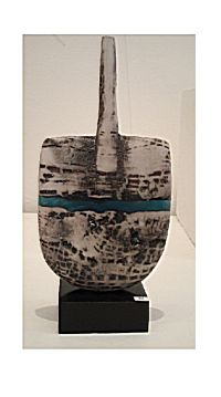 Raku Pelos with Blue Wave | Peter Hayes
