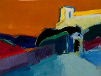 Church in the Pyrenees | Donald Hamilton Fraser