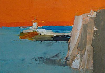 Headland and Lighthouse | Donald Hamilton Fraser