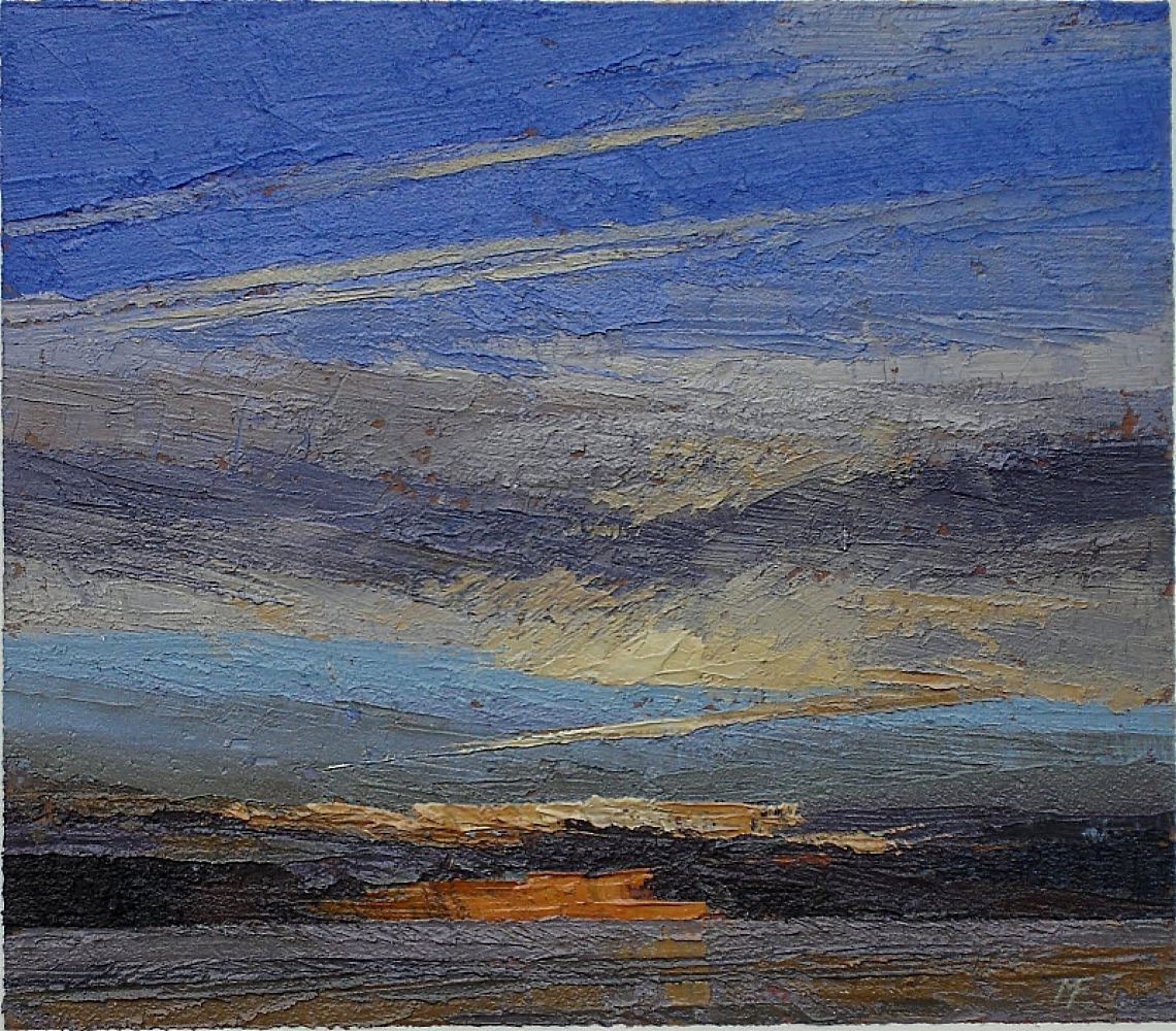 At Sea - Dusk II  | Michael Fairclough
