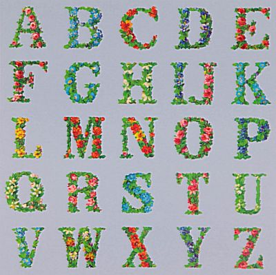 Appropriated Alphabet VIII | Peter Blake