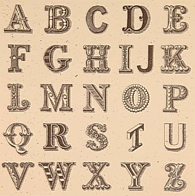 Appropriated Alphabet 1 | Peter Blake