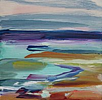 Scotstoun Beach from the Dunes (Study) | Shona Barr