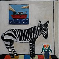 Zebra and Boat | Emrys Williams