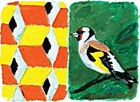 Goldfinch Diptych 29/60 | Joe Tilson