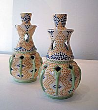 Pair of Moroccan Candlesticks | Prue Piper