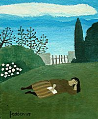 Sleeping Poet | Mary Fedden