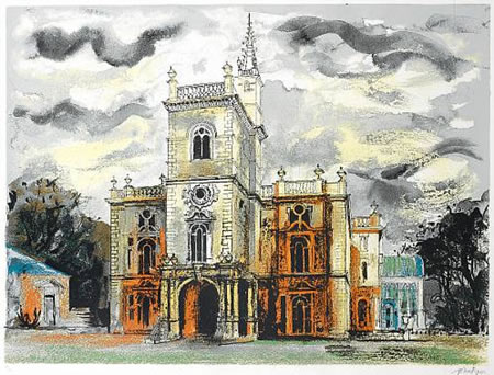 Flintham Hall 10/75 | John Piper