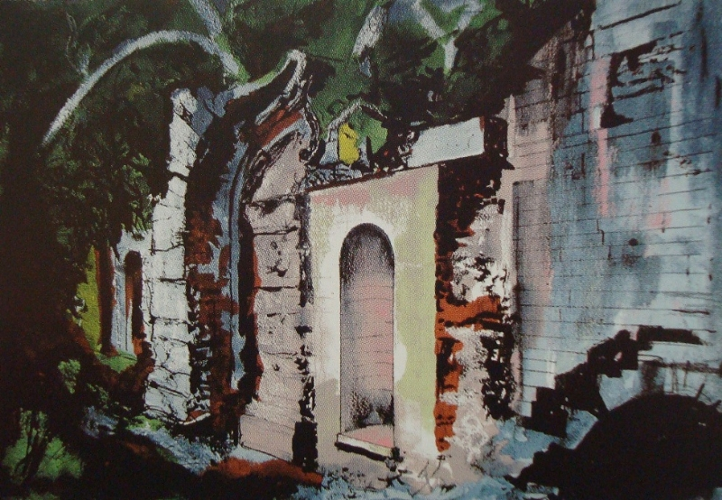 Cascade Bridge, Halswell 21/70 | John Piper