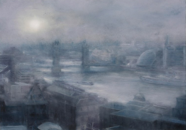 Mid-Morning Sun and Mist: The Thames from Monument | Matthew Draper