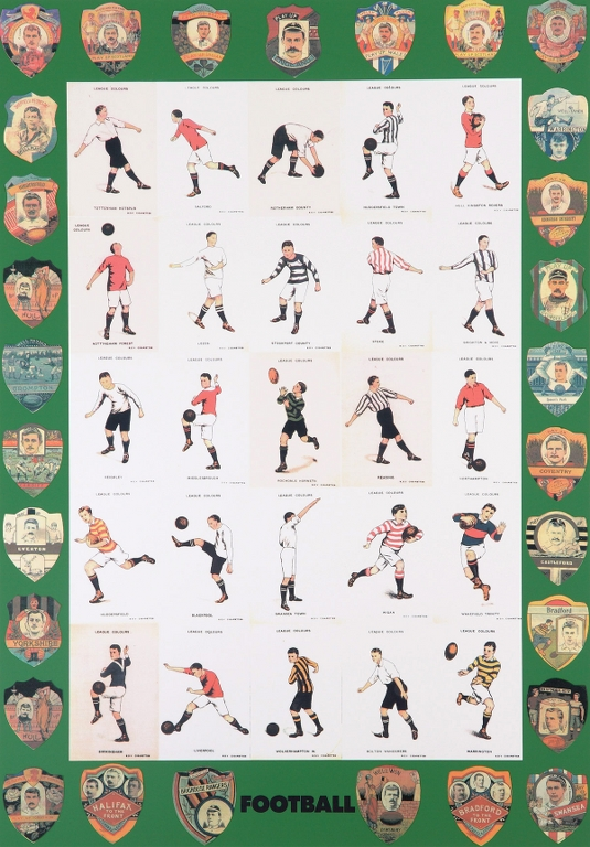 F is for Football | Peter Blake